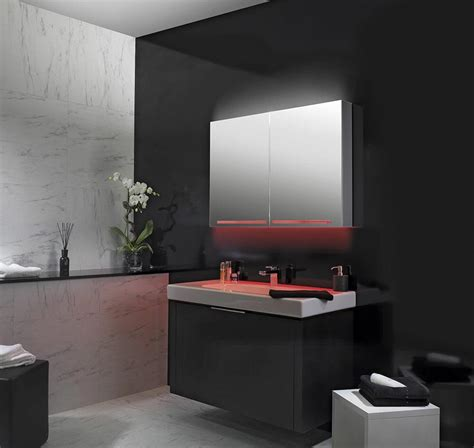 schneider graceline 3 door mirror cabinet uk bathrooms schneider graceline 3 door 1300mm mirror cabinet with led