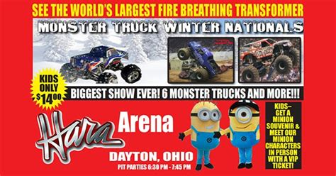 hara arena monster truck show monster truck winter nationals at hara