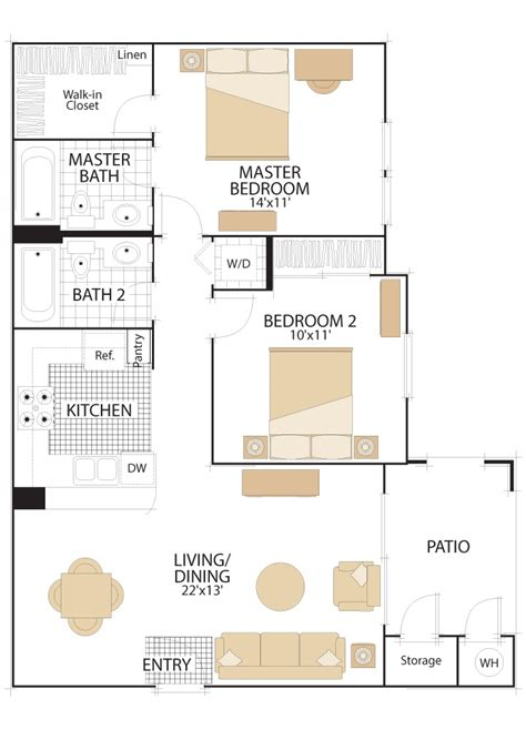 quail hill floor plans quail hill apartment floor plans irvine california
