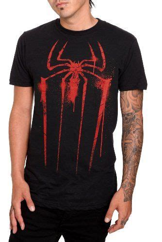 marvel the amazing spider spray paint t