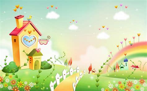 gambar wallpaper animasi cantik gambar dunia kartun fantasi yang cantik cantik