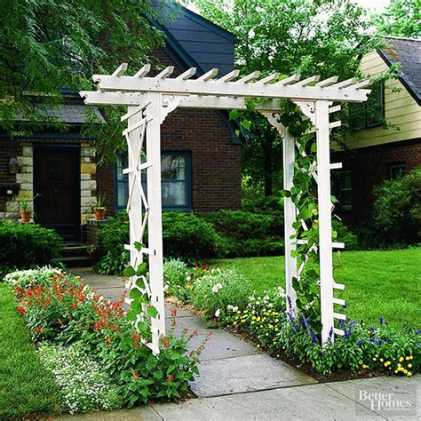 how to build a simple entry arbor arbors cuttings and woods