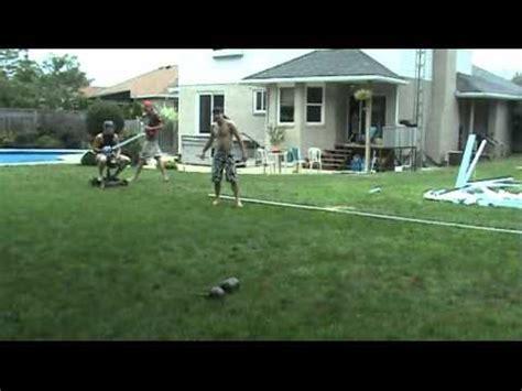 backyard jousting