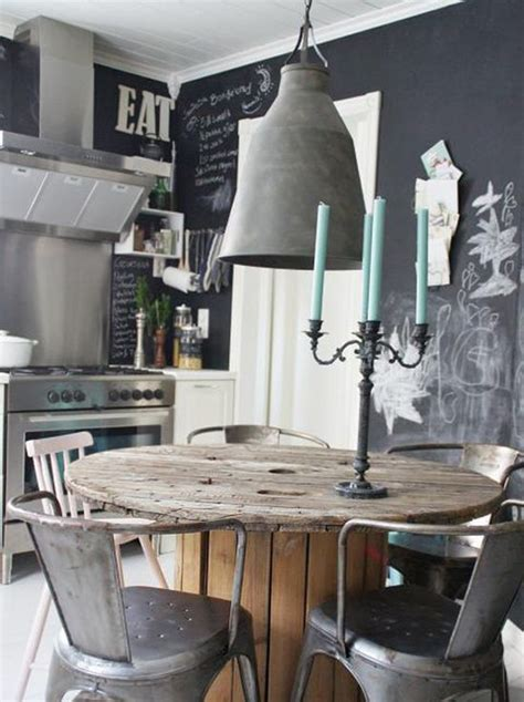 industrial dining room home decor pinterest 25 industrial dining area with masculine interiors