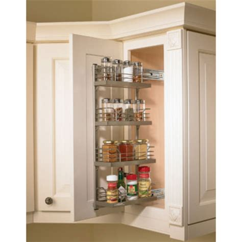 inside cabinet door spice rack hafele kessebohmer spice rack for mounting on cabinet door or inside on cabinet side