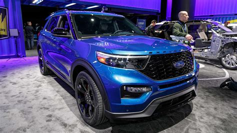 Ford Usa Explorer 2020 by 2020 Ford Explorer St Motor1 Photos