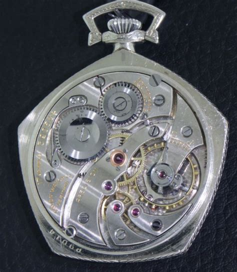 Swiss Army Pentagon gruen pentagon gold filled 359014 pre owned pocket pendant