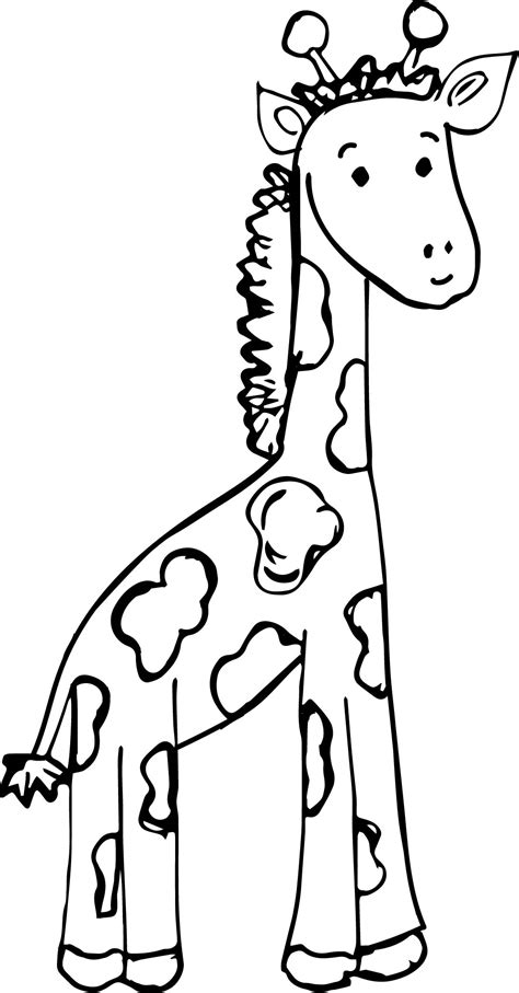 coloring pages of a baby giraffe cute giraffe coloring pages 20 page coloring pages of