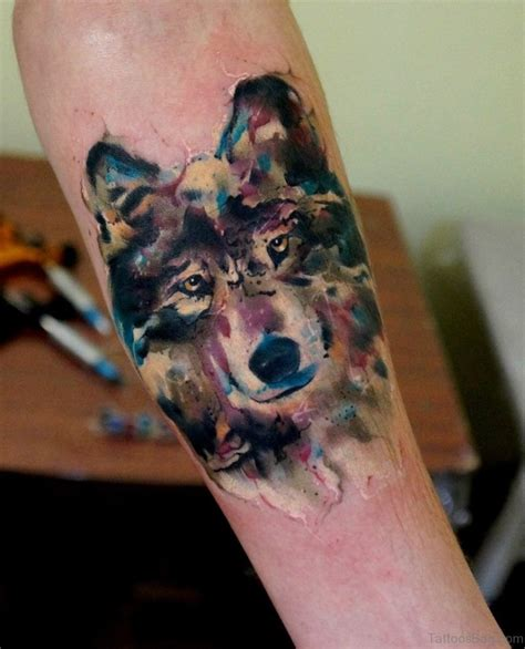 classy tattoo 50 exclusive wolf tattoos for arm