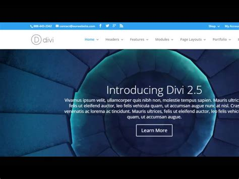 tutorial building a website divi theme tutorial build a website from scratch with no