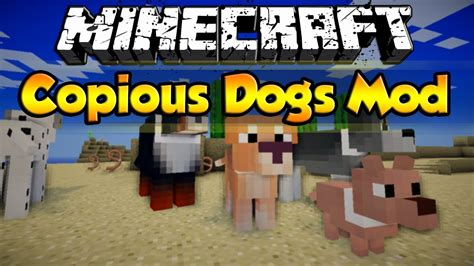 minecraft copious dogs mod add  dog breeds