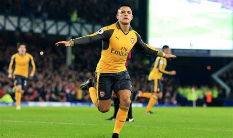 alexis sanchez lost possession arsene wenger why arsenal lost to everton at goodison