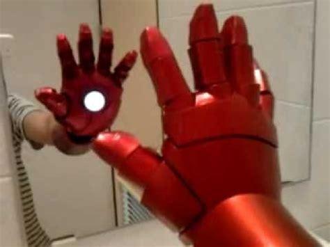 iron man eyes or repulsor tutorial youtube ironman hand repulsor test youtube
