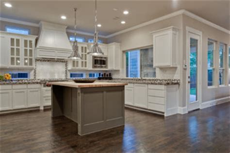 Home Office Design With Kitchen Cabinets by Agreeable Gray