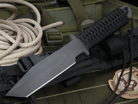 strider bt strider bt black on black tactical fixed blade knife
