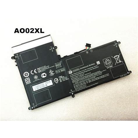 Original Battery Hp Elitepad 1000 G2 Hstnn Lb5o Part Ao02xl original ao02xl 7 4v 31wh battery for hp elitepad 1000