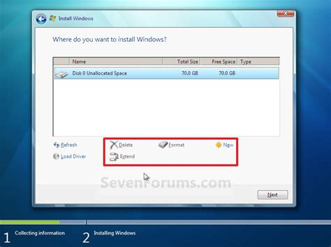 format cd on windows 7 clean install windows 7 windows 7 help forums