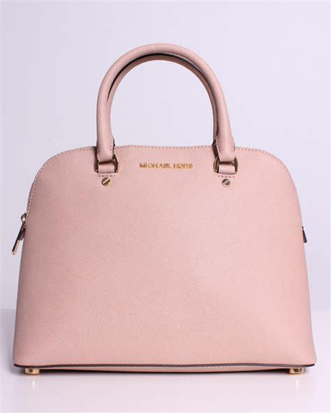 Tas Michael Kors Original Mk Tote Blush Pink michael kors large dome satchel handbag purse in blush ebay
