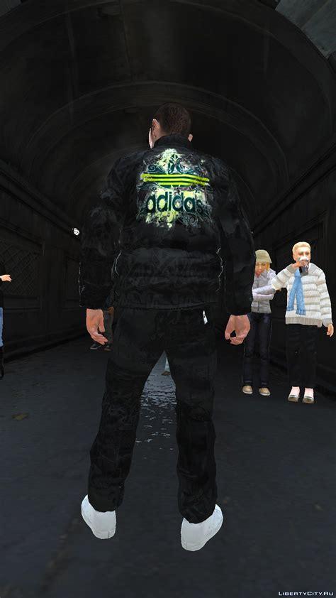 Liberty City Gta Jacket Black adidas black version gta 4