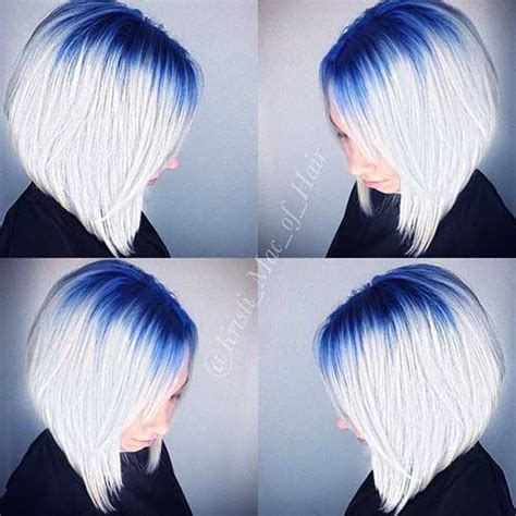 is ombre blue hair ok for older women 10 popular reverse bob hairstyles bob hairstyles 2017