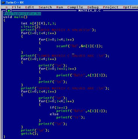 z pattern in c program write a c program to print pascal triangle with output