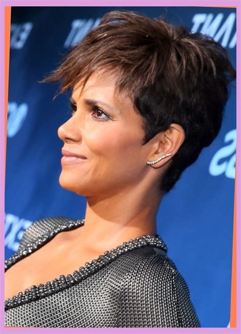 picture of halle berry hairstyle on extant halle berry hairstyles short hair in extant small world