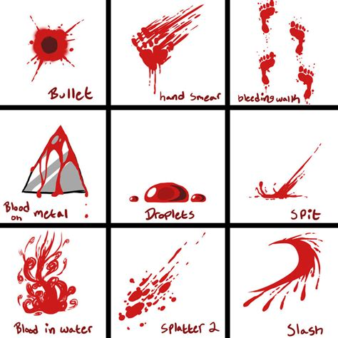doodle blood blood reference sheet 2 by baconoffury on deviantart