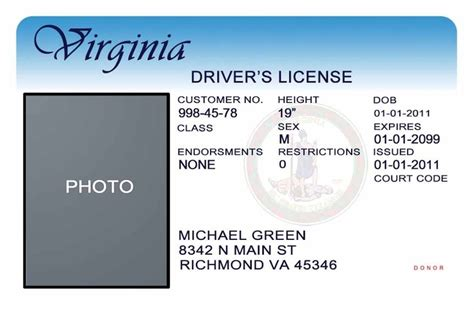 Ohio Id Card Photoshop Template by 16 Driver License Template Photoshop Psd Images