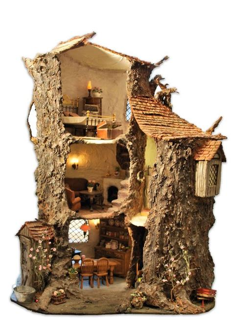 tree house doll house miniature tree houses ideas to mesmerize you bored art