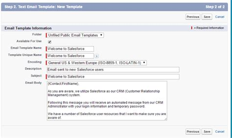 Save Time By Creating Email Templates In Salesforce Ledgeview Partners Salesforce Template