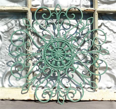 wrought iron wall decor metal wall by michellelisatreasure