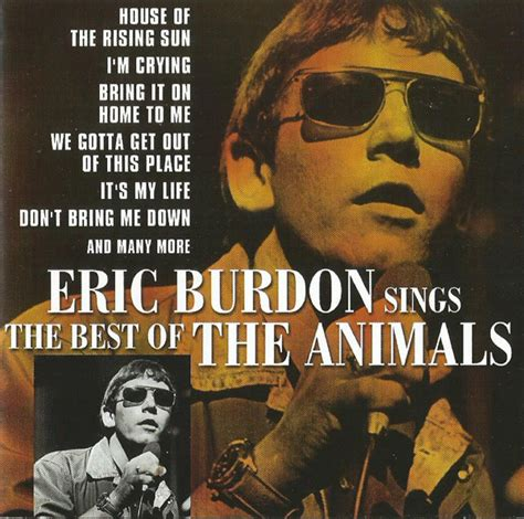 Cd Eric Burdon The Animals The Best Of Import eric burdon sings the best of the animals cd at discogs
