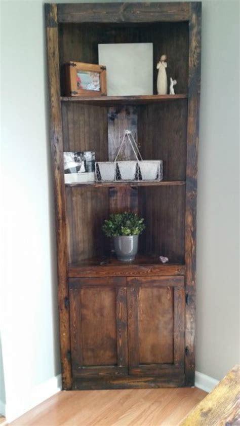 Corner Cabinet Bookshelf by 15 Ways To Diy Creative Corner Shelves
