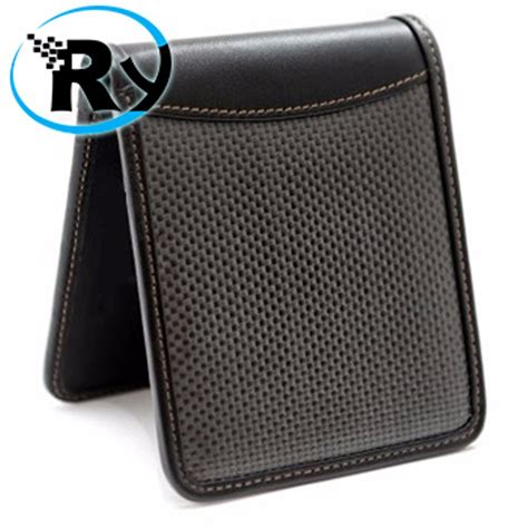 Jual Alarm Mobil Rfid jual dompet travel carbon fiber wallet with rfid