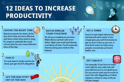12 Tips On How To A Date 20 by 12 Great Tips To Increase Productivity At Work