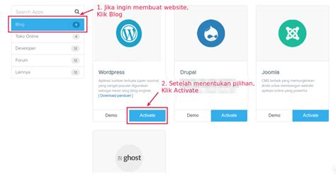 membuat website hotel dengan wordpress cara membuat website dengan wordpress di domainesia