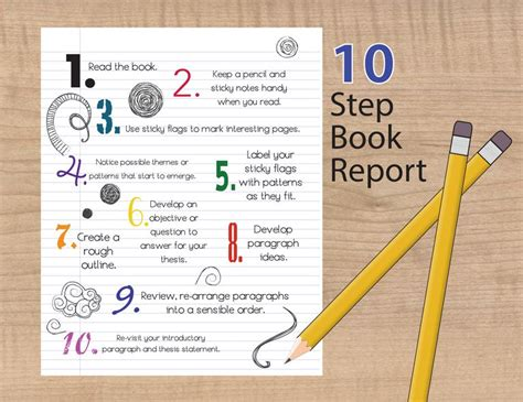 How To Make A 10 Page Book Out Of Paper - how to write a succesful book report