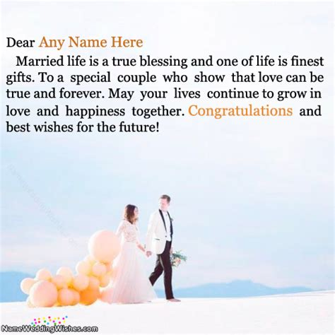 Wedding Congratulations With Name by Wedding Congratulations Images With Name