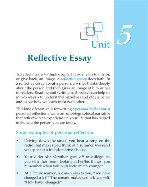 Essay Writing For Grade 1 by Grade 6 Reflective Essay Composition Writing Skill