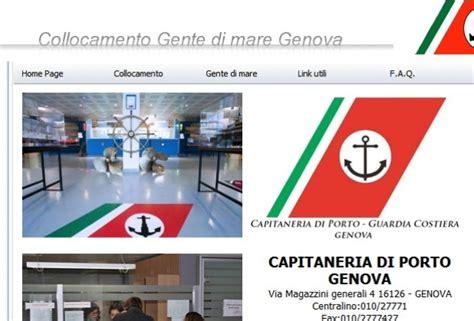 ufficio collocamento gente di mare genova foto gente di mare inaugurato il nuovo portale 1 di 1