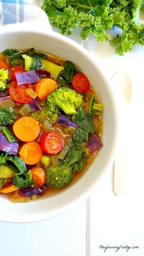 Detox Recipes Vegan by Cleansing Detox Soup Recipe