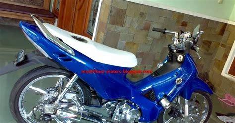 Supra X 125 2005 Biru Putih wareh modif supra x 125 velg krum biru jok putih informasi internetmu terlengkapdana wareh