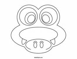 crocodile mask template printable crocodile mask