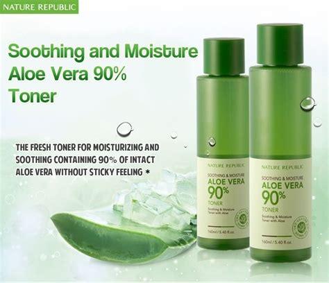 Detox Aloe Vera Malaysia by Nature Republic Soothing Moisture Aloe Vera 90 Toner