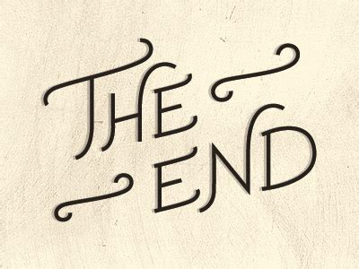 ends books the end by rushing dribbble