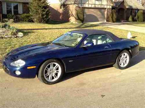 how cars work for dummies 2001 jaguar xk series head up display sell used 2001 jaguar xk8 convertible low mileage pacific blue with ivory interior in