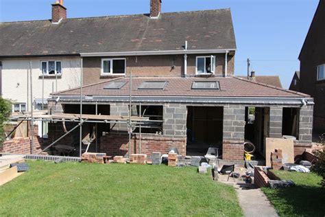 single storey side  rear extension  art  building