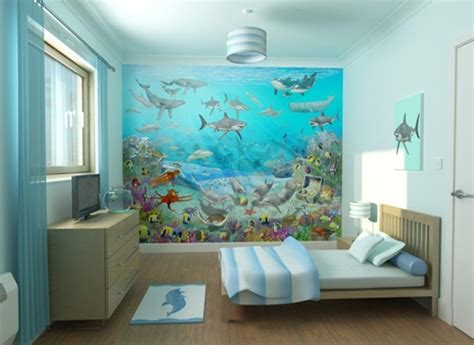 sea themed furniture   kids bedroom interior design