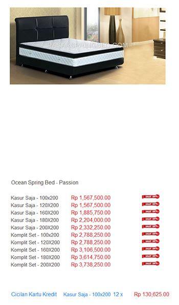 Daftar Kasur Busa American harga bed termurah di indonesia toko bed jakarta bekasi motorcycle review and