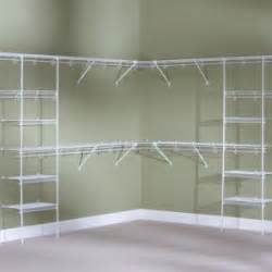 White Wire Closet Racks Affordable Rubbermaid Wire Shelving With Small Walk In